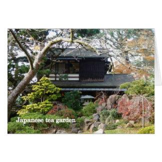 Japanese Tea Graden Card