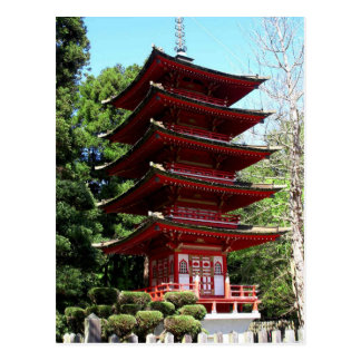 Japanese Teahouse, Balboa Park Postcard