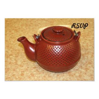 Japanese Teapot Invitation