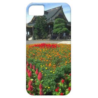 Japanese temple flower garden iPhone SE/5/5s case