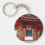Japanese Temple Pagoda Keychain