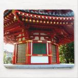 Japanese Temple Pagoda Mousepad