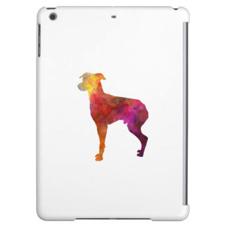 Japanese Terrier in watercolor iPad Air Cases