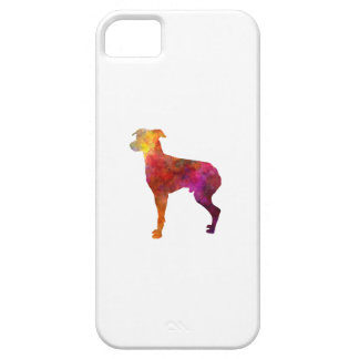 Japanese Terrier in watercolor iPhone SE/5/5s Case