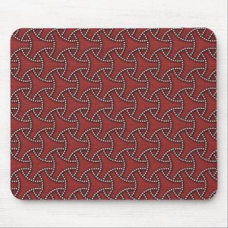 Japanese textile Seven Treasures Mouse Pad