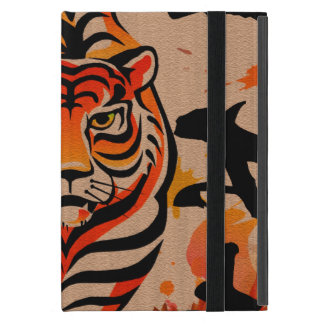 japanese tiger art iPad mini case