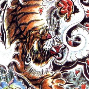 9d577d70f824a Tiger Japanese Tattoo Design Home Décor, Furnishings & Pet Supplies ...
