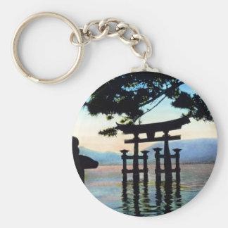 Japanese Torri Vintage Traditional Gate Keychain