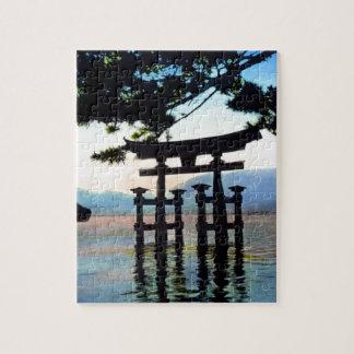 Japanese Torri Vintage Traditional Gate Puzzle