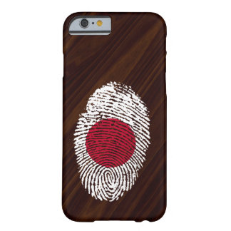 Japanese touch fingerprint flag barely there iPhone 6 case