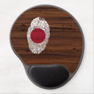 Japanese touch fingerprint flag gel mouse pad