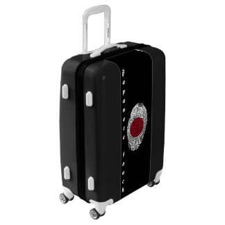 Japanese touch fingerprint flag luggage