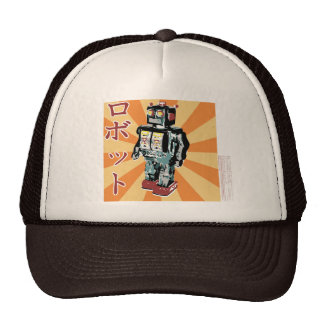 Japanese Toy Robot 1 Hats