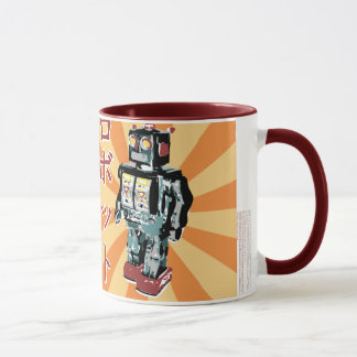 Japanese Toy Robot 1 Mug