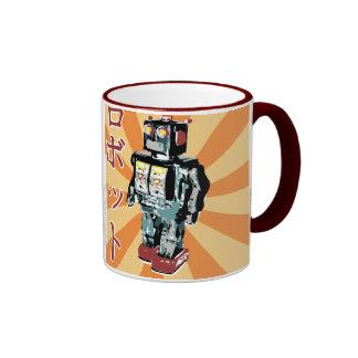 Japanese Toy Robot 1 Ringer Coffee Mug