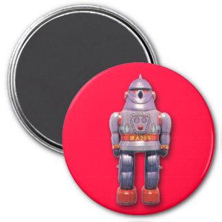 Japanese Toy Robot Round Magnet