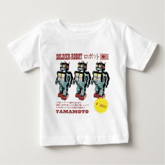 Japanese Toy Robot Soldier Baby T-Shirt