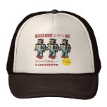 Japanese Toy Robot Soldier Mesh Hats
