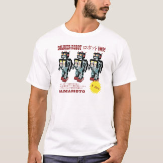 Japanese Toy Robot Soldier T-Shirt