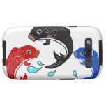 Japanese Traditional Koi Fish Samsung Galaxy S3 Cases