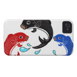 Japanese Traditional Koi Fish iPhone 4 Cases