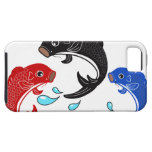 Japanese Traditional Koi Fish iPhone 5/5S Covers
