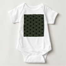 Japanese traditional pattern. baby bodysuit