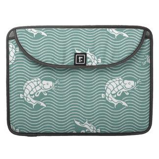 Japanese traditional pattern - Carp Sleeve For MacBooks