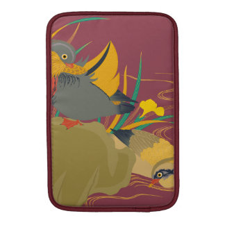 Japanese traditional pattern - Colorful bird MacBook Air Sleeves