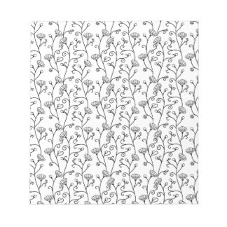 Japanese traditional pattern (flower) notepad