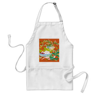 Japanese traditional pattern - Offerings to God Adult Apron