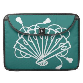 Japanese traditional pattern - SENSU MacBook Pro Sleeve