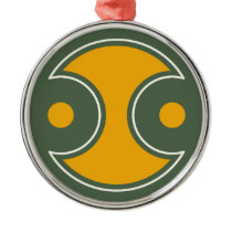 Japanese traditional pattern - SYMBOL Metal Ornament