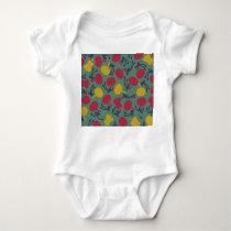 Japanese traditional pattern - UCHIWA Baby Bodysuit