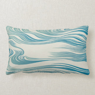 Japanese Traditional Wave Pattern Pillows