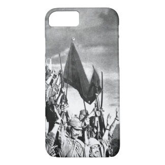 Japanese troops on Bataan,_War image iPhone 8/7 Case