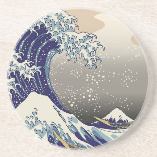 Japanese Tsunami Drink Coaster