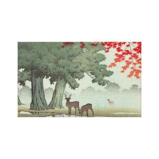 Japanese Ukiyoe Art(Hasui Kawase) Canvas Print