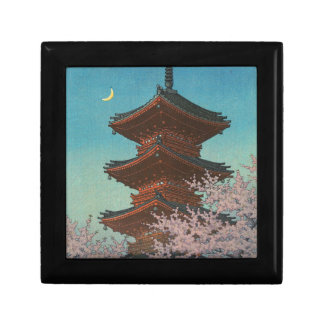 Japanese ukiyoe art (Hasui Kawase) Gift Boxes