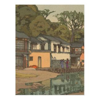 Japanese Ukiyoe Art (Hiroshi Yoshida) Postcard