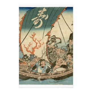 Japanese Ukiyoe Art (hiroshide Utagawa) Stationery
