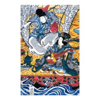 Japanese Ukiyoe Art (kunisada utagawa) Stationery