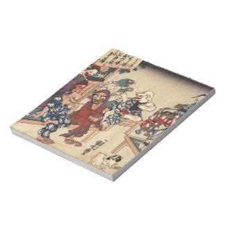 Japanese Ukiyoe Art (Kuniyoshi Utagawa) Notepad