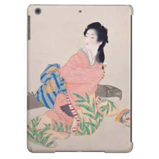 Japanese Ukiyoe Art(Shouen Uemura) iPad Air Covers