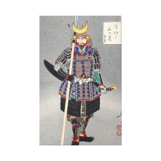 Japanese Ukiyoe Art (Tsukioka Yoshitoshi) Canvas Print