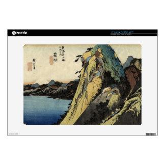 Japanese Ukiyoe Art (Utagawa Hiroshige) Laptop Skin