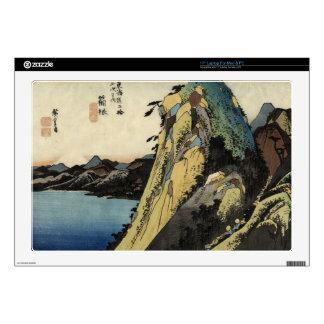Japanese Ukiyoe Art (Utagawa Hiroshige) Laptop Decal