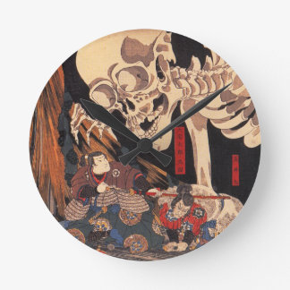 Japanese Ukiyoe Art vol.1 Round Wall Clocks