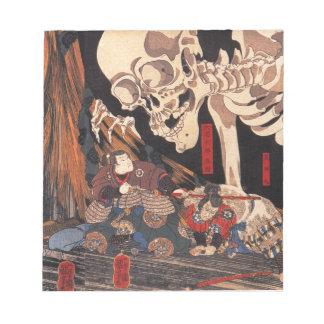 Japanese Ukiyoe Art vol.1 Notepad