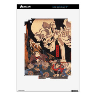 Japanese Ukiyoe Art vol.1 Skins For iPad 2